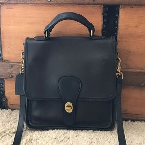 Coach Vintage Turnlock Crossbody Purse